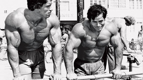 Franco Columbu and Arnold Schwarzenegger