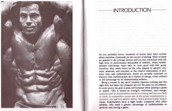 Franco Columbu Bodybuilder's Nutrition Book
