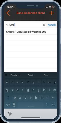 Appro - Maison smeets app (Database)