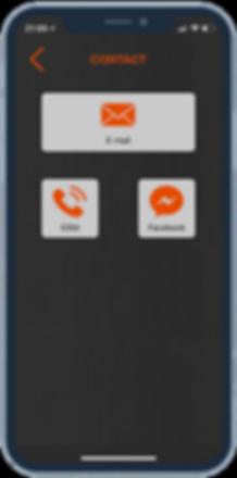 Appro - Maison Smeets App: contact screen
