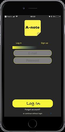 A-note - Connection menu