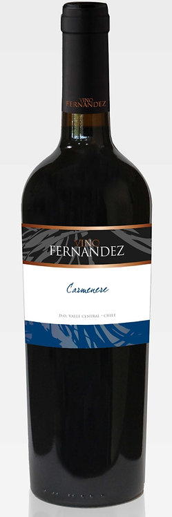 Vino Fernandez Camenere 2018