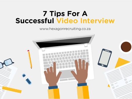 7 Tips for a successful video interview