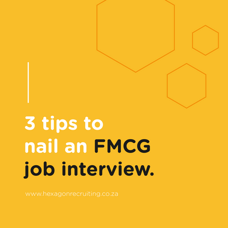 3 Tips to Nail an FMCG Job Interview