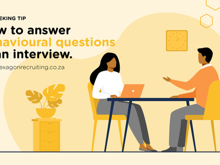 How to answer behavioural Questions in an Interview
