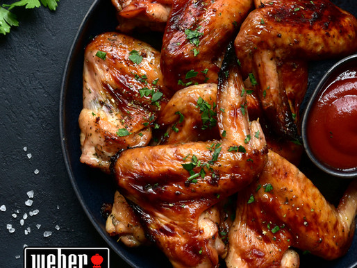 10 Minute BBQ Wings