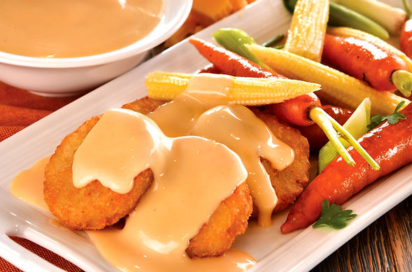 Cheddar Cheese Sauce & Vegetables