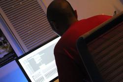 Basil Tam@ Flat Six Music Studio