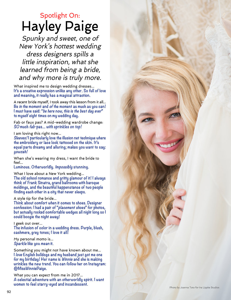 Sophisticated Weddings New York Hayley Paige