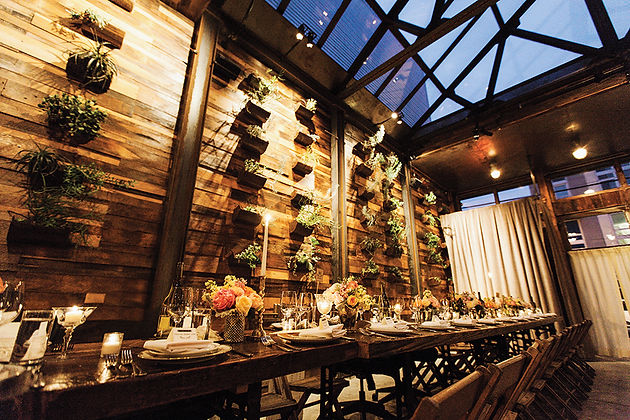 Brooklyn Winery Wedding.Featured Wedding Venue Brooklyn Winery Sophisticated