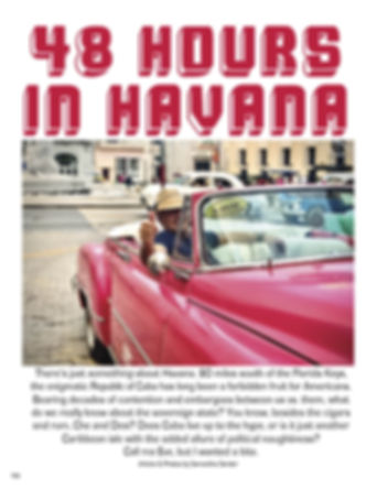 48 HOURS IN HAVANA CULTURAL CUBA