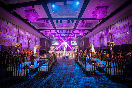 Furniture from Luxe Event Rentals, décor design by Birch Event Design