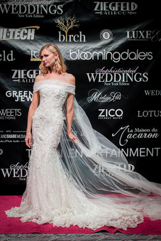 Bridal Reflections' model in a stunning Galia Lahav gown