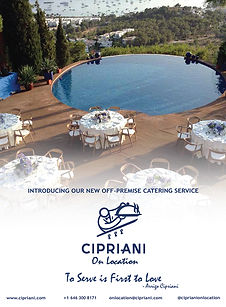 cipriani on location