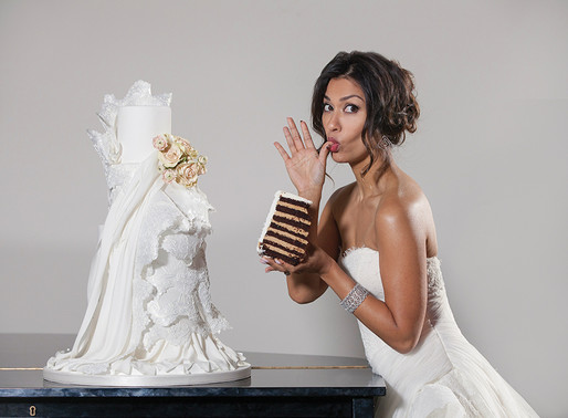"SWEET CELEBRATION: Apple TV+'s ""THE MORNING SHOW"" Star JANINA GAVANKAR Has Her Cake And Eats It Too!"