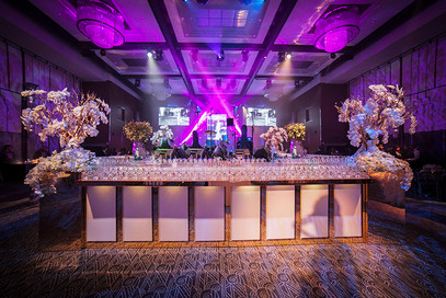 Check out that custom bar by HiTECH Events!