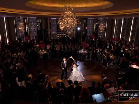 Amy & Matt's Rainbow Room Wedding