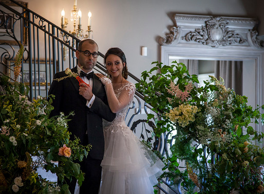 Behind-The-Scenes: Whimsically Rustic Florals
