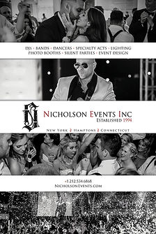 nicholson events