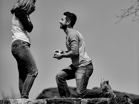 Popping The Question: A Photo Speaks A Thousand Words