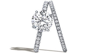 NYC engagement ring diamond jewelry