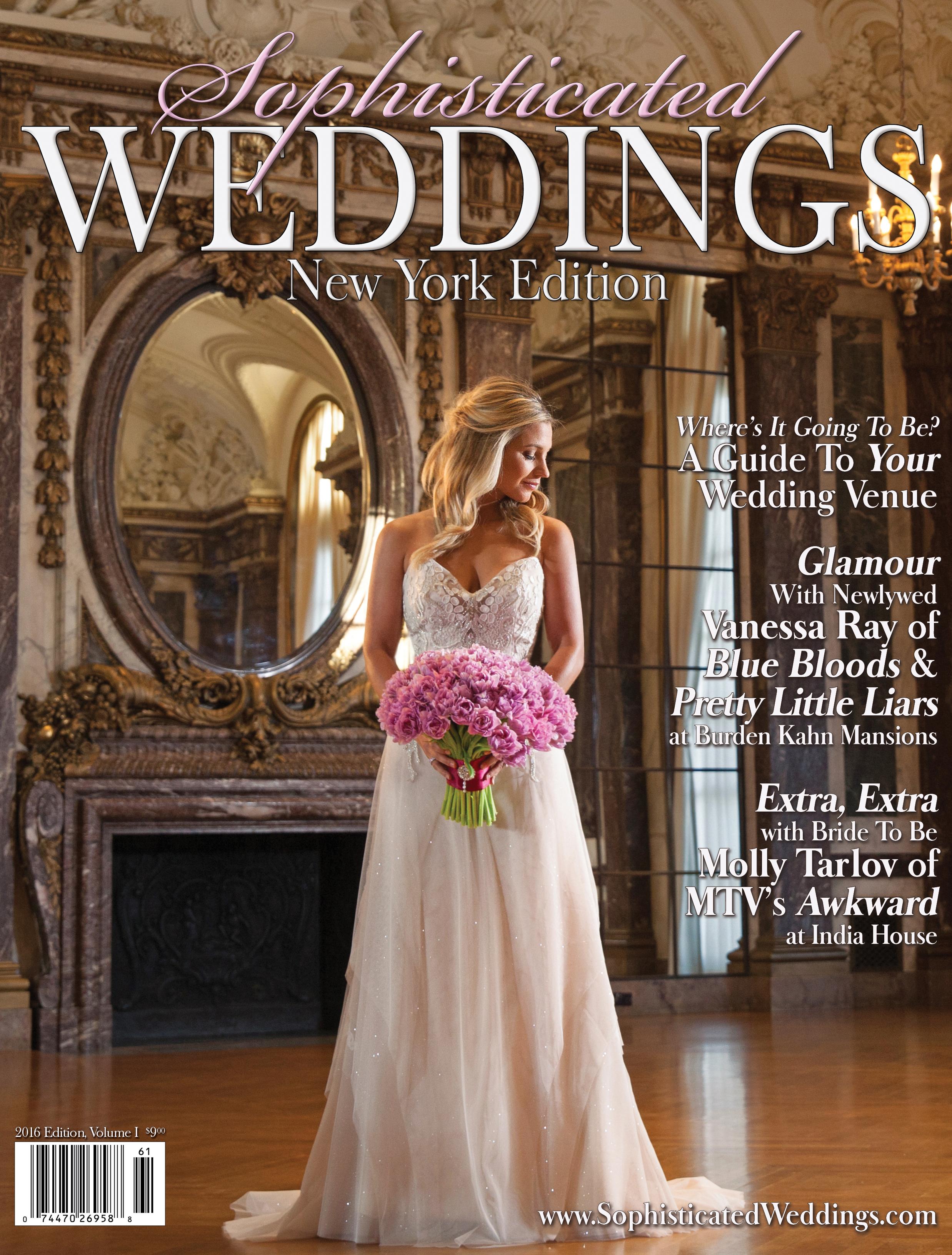 Sophisticated Weddings Vanessa Ray