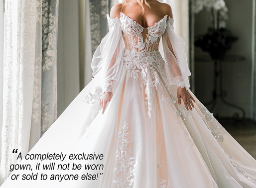 GAGA For Galia - A Completely Exclusive Gown