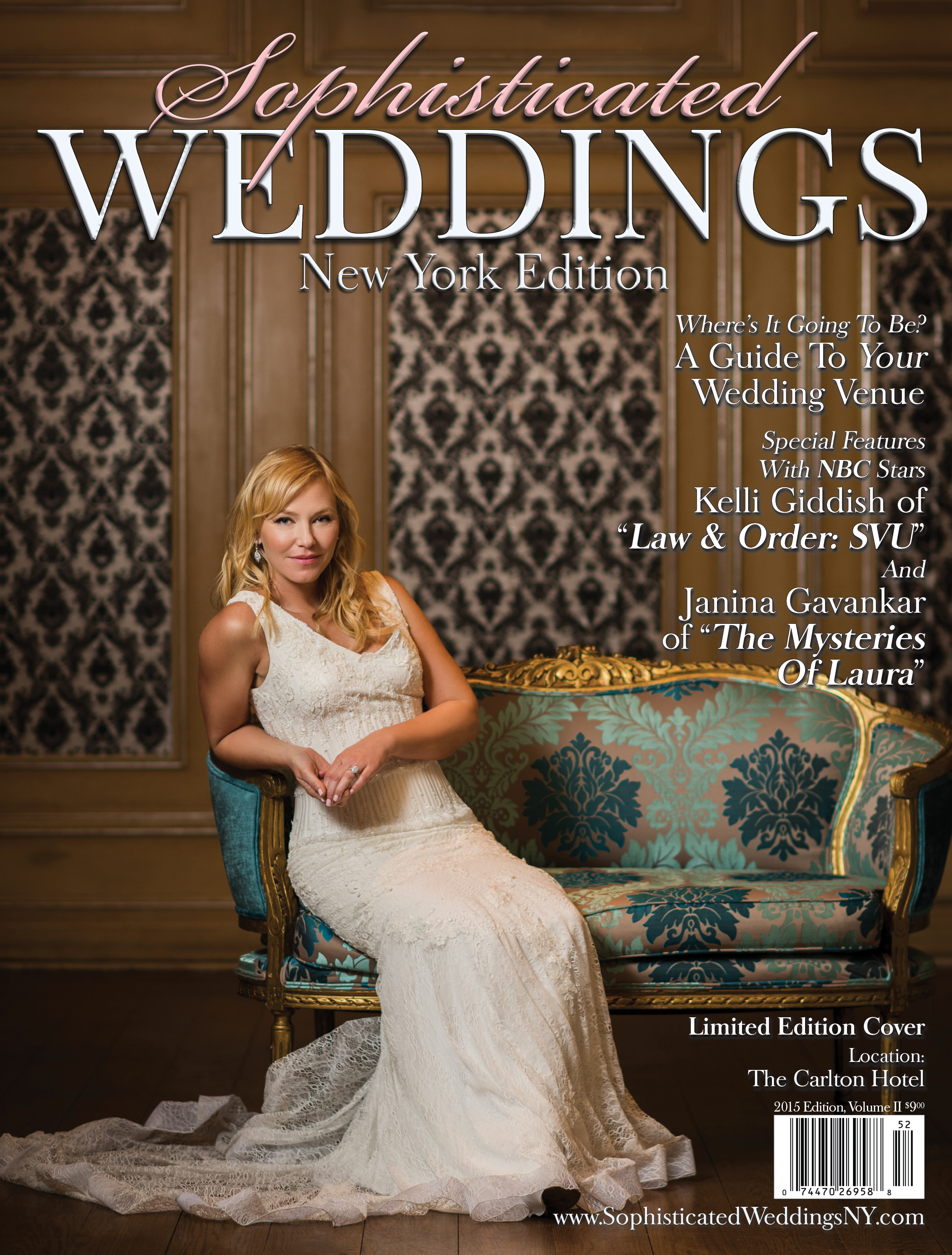 Kelli Giddish Sophisticated Weddings