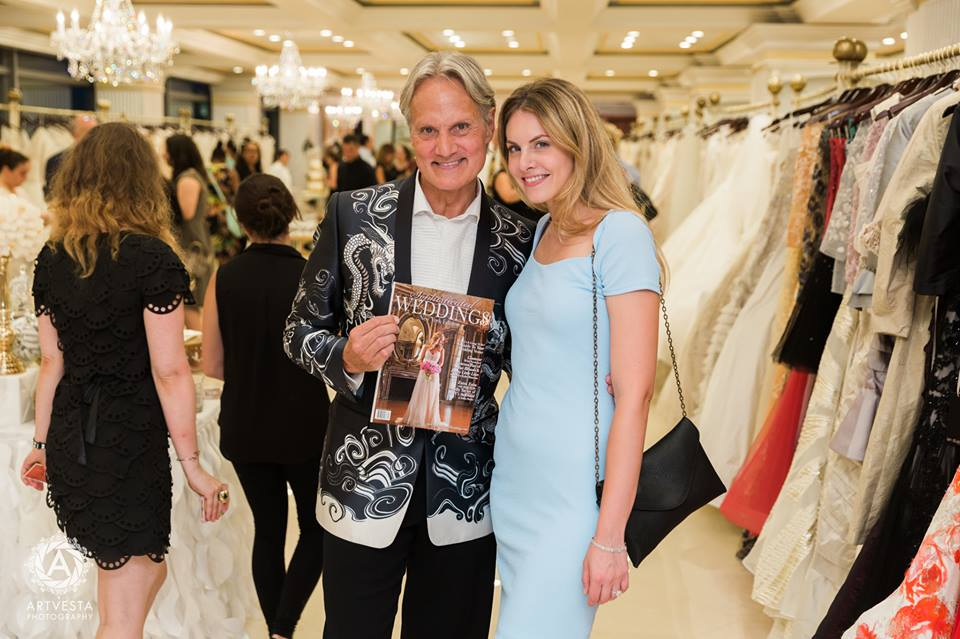 """Say Yes To The Dress: Atlanta"" Star Monte Durham with Sophisticated Weddings Editor-in-Chief Samantha Sendor"