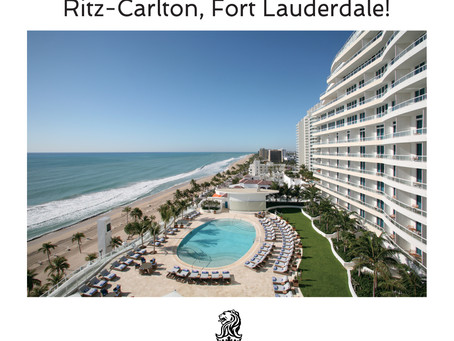 Win A Couple's Getaway To The Ritz-Carlton Fort Lauderdale!