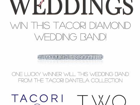 Win This Tacori Diamond Wedding Band!