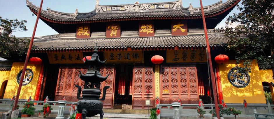 LE TEMPLE DE JADE - SHANGHAI