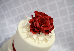 Hand made sugar Rose