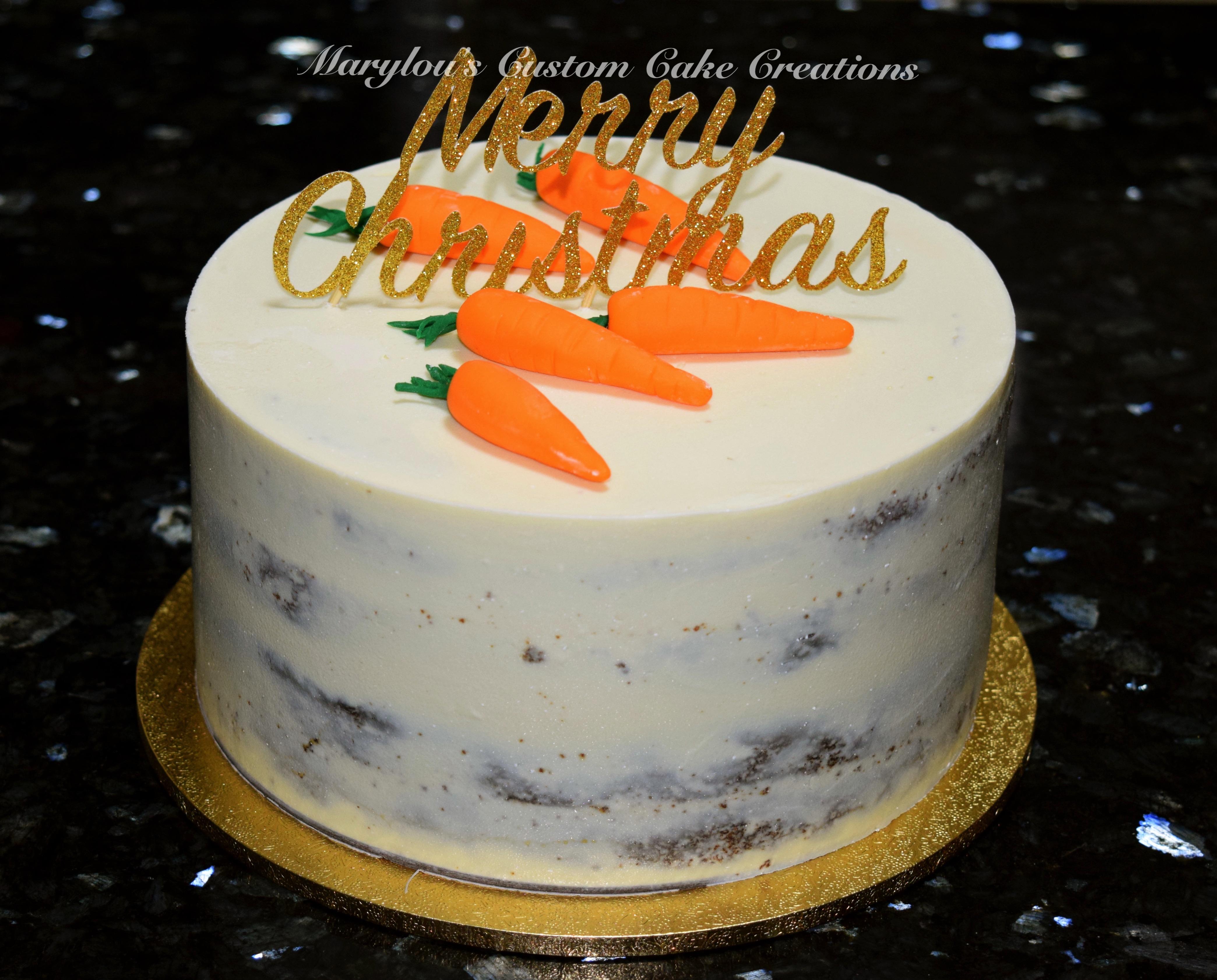 Carrot Cake Xmas Style