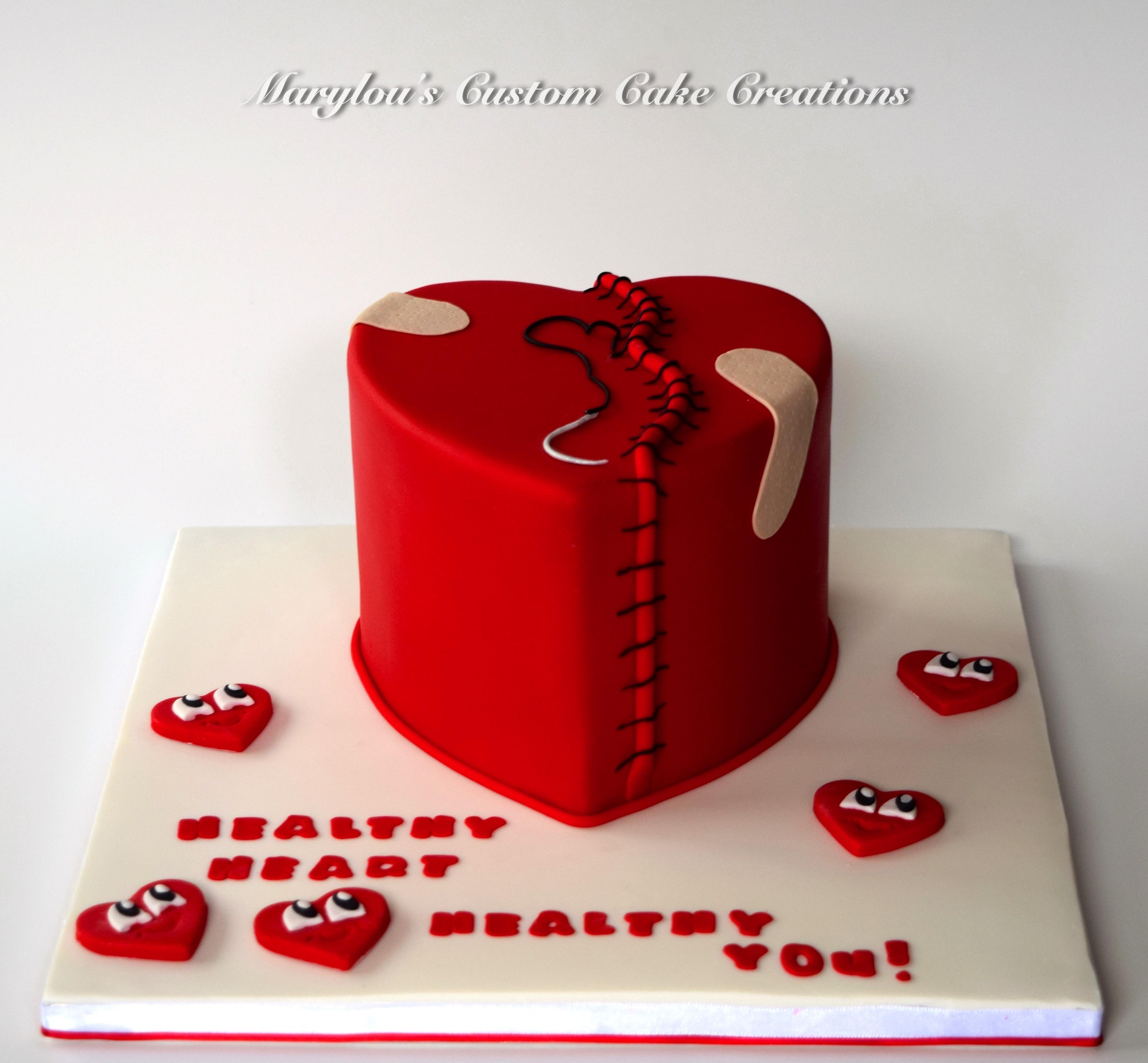 Heart Operation Cake