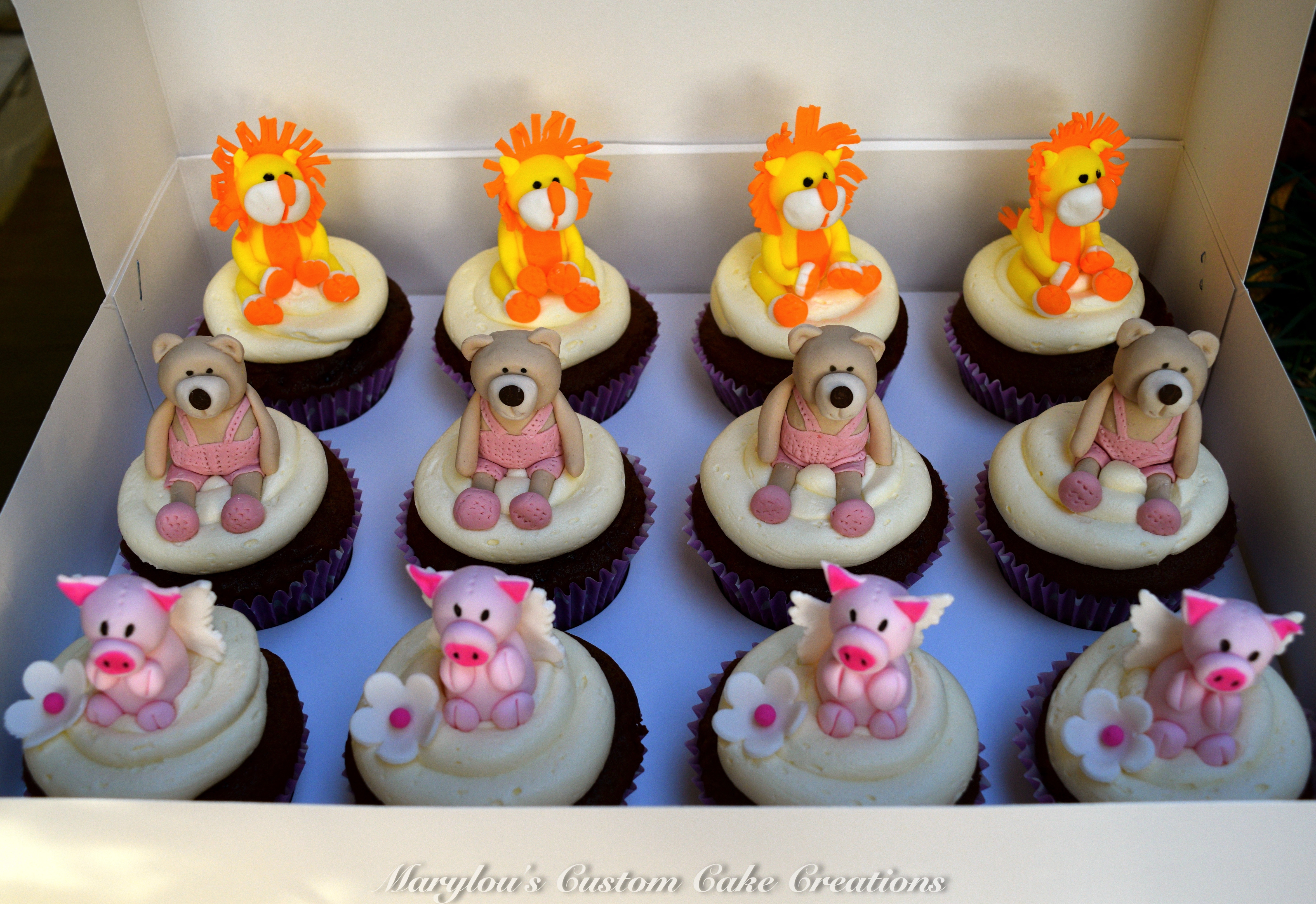 Favourite Toy Cup Cakes