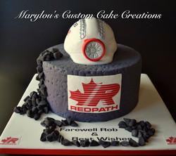 Redpath Mining Cake