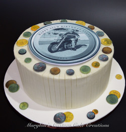 Coin Collector Cake