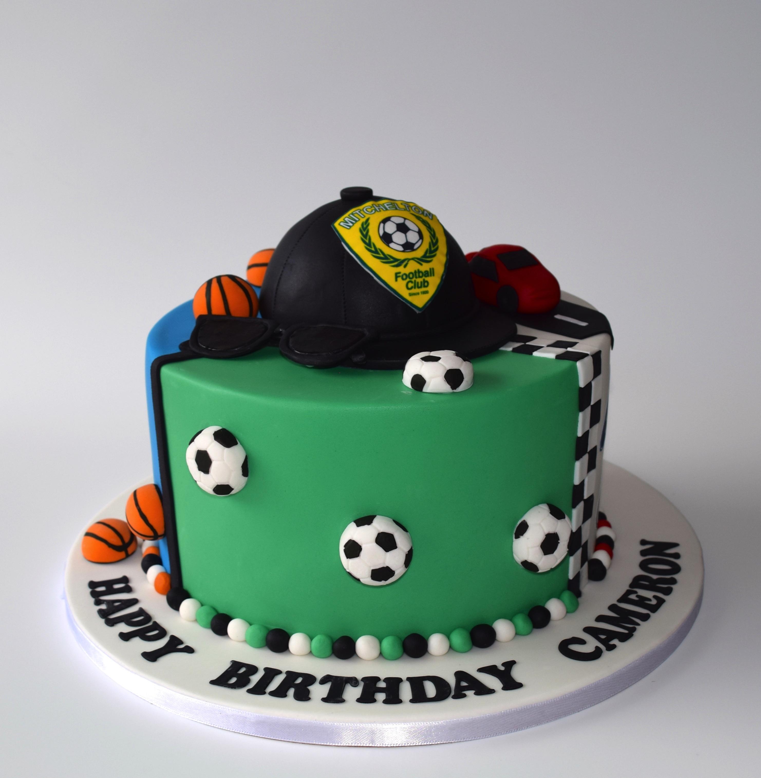 Triple Theme Cake