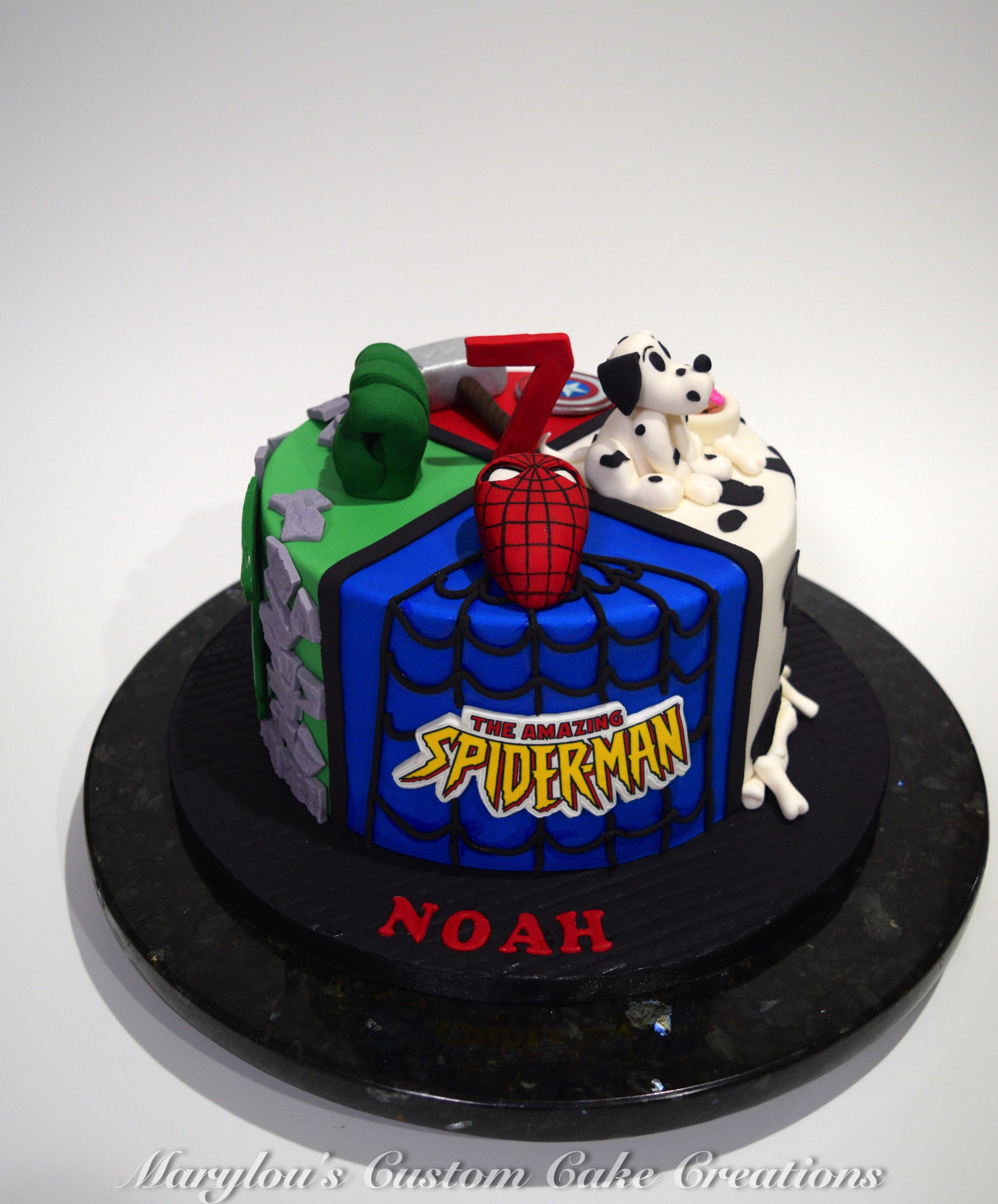 4 theme cake