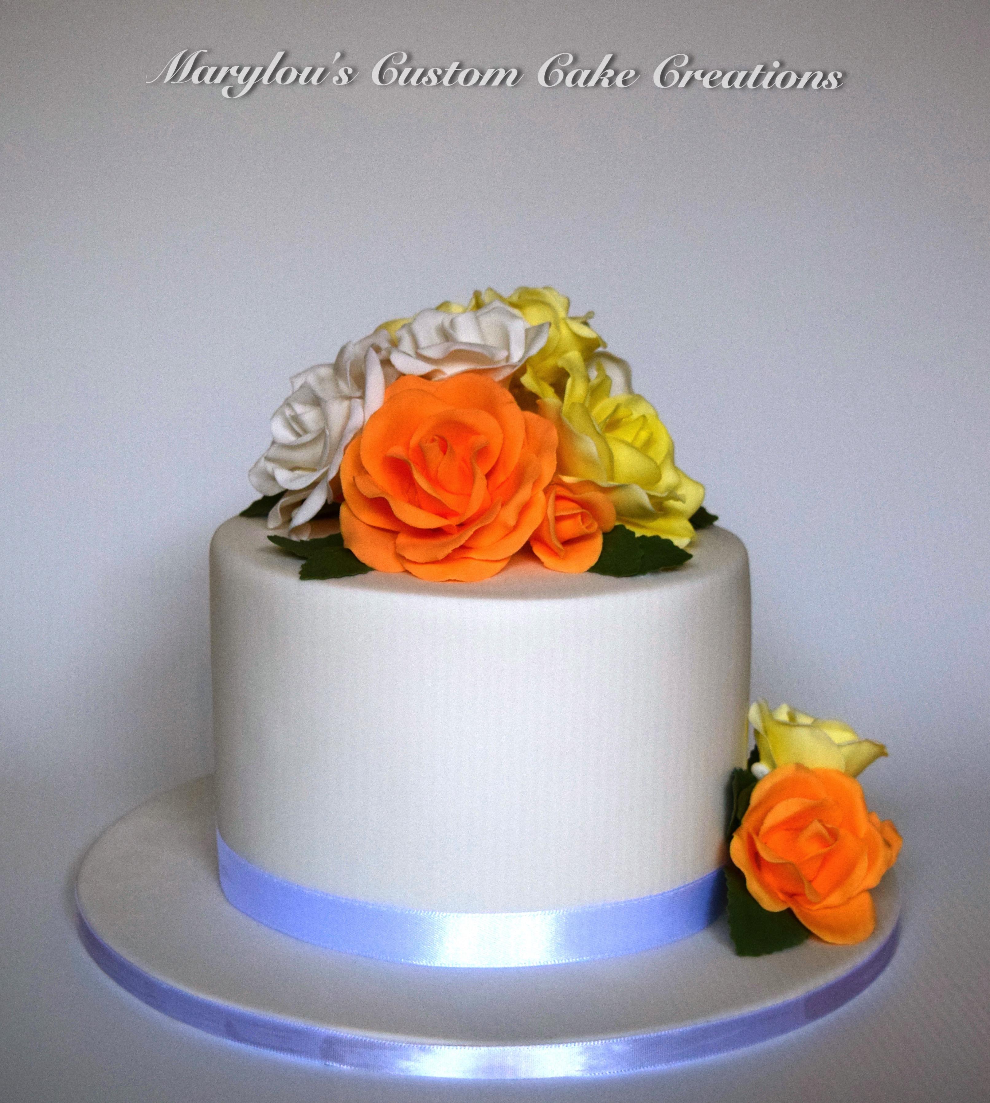 Rose  6 inch cake