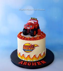 Blaze Monster Truck Theme
