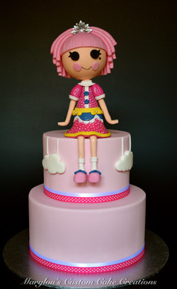 Sugar Doll Cake