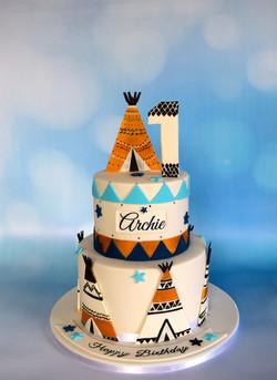 Teepee Cake