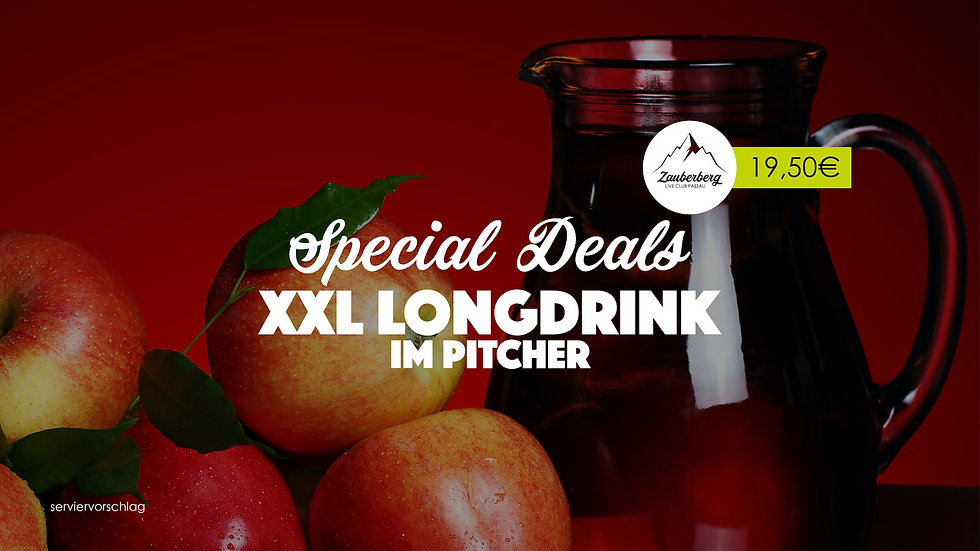 Zauberberg SPECIAL DEALS xxl Longdrink