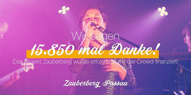 Das Projekt Zauberberg Passau wurde erfolgreich mit er Crowd finanziert