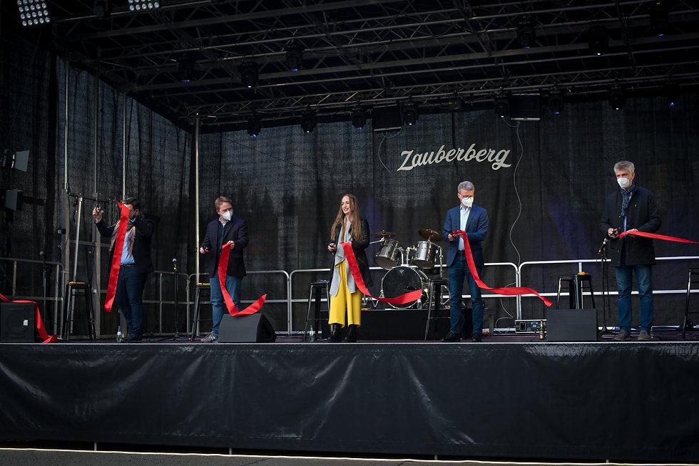 Zauberberg Bühnentaufe mit Bernd Siebler