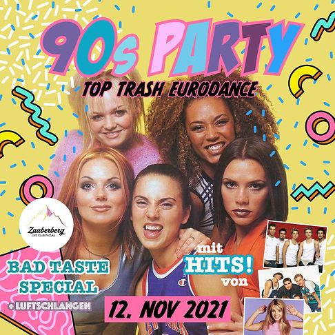 2021-11-12 90s Party - Eurodance Bad Taste - quadrat.jpg
