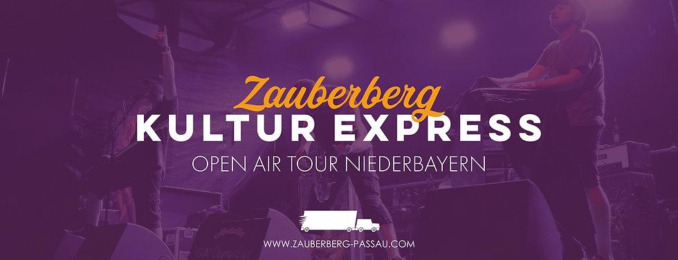 Zauberberg Kultur Express - Open Air Tou