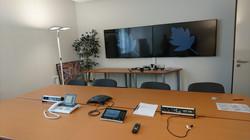 Videokonferenzraum Montage Heidenheim